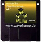 Yamaha CS6x/CS6r Volumen 1 Sound-Set Midisounds waveframe kostenlos Cs1x,An1x