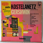 Andre Kostelanetz Orchestra Music Of George Gershwin EX Vintage Mono LP Andr