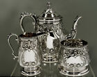 Durham Sterling Silver Tea Set       c1950 NEW YORK    (RARE)     50 OZ.