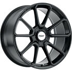 20x85 Black TSW Sonoma Wheels 5x120 +20 Fits BMW M5 735i735iL750iL