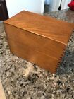 Hedges Mfg. Company #446 Oak Dove Tail Box Recipe HB-1