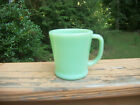 Fire-King Jadeite Jadite Mug D Handle Flat Bottom