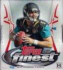 2014 Topps Finest Football sealed hobby box 12 packs of 5 NFL cards 2 auto