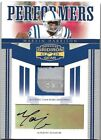 2006 Donruss Gridiron Gear Marvin Harrison Colts Laundry Tag Patch Auto LOGO 2