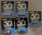 Hot Wheels 50th Anniversary Favorites Set of 5 Datsun 510 Ford Javelin Chevy VW