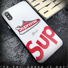 New Street fashion Suprem Sports Shoes soft silicon cover case for iphone 6 6S p