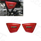 1982-2001 1988 Red ABS Plastic Frame Side Cover Fairing Panel For Suzuki GN250