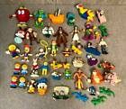 40+ Piece Mixed Action Figure Toy Lot Disney Muppets Popeye Barney and More