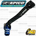 Apico Elite Black Blue Gear Pedal Lever Shifter For Sherco Trials 1.25 2000-2017