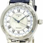 Free Shipping Pre-owned Longines Lindberg Limited Stainless Steel L2.610.4