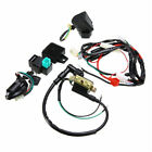 50cc 110cc 125cc Motorcycle CDI Wiring Harness Ignition Solenoid Coil Rectifier