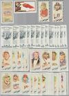 2018 Topps Allen  Ginter Lot 53 MINI INSERTS BLACK AG PARALLELS RC MINIS+++