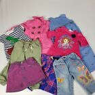 Girls Play Clothes Size 2T Lot of 9 pieces