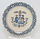 Johnson Brothers Old Granite Hearts  Flowers Saucers Blue Mark