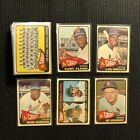 1965 TOPPS ST LOUIS CARDINALS COMPLETE TEAM SET 30 CARDS STEVE CARLTON ROOKIE +