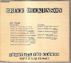Bruce Dickinson - Shoot All the Clowns (1994) UK single Radio & Club Remixes NEW