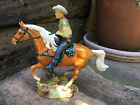 Beswick Cowboy on Horse no. 1377 with excellent detail in perfect condition