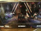 NEW 08 SDCC COMIC CON HOT WHEELS 1966 TV BATMAN BATMOBILE BATCYCLE BATGIRL CYCLE