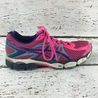 Asics GEL Flux 2 Womens Size 10 Running Shoes Bright Pink Blue White T568N