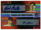 2004 SP Prospects BOB FELLER JEREMY SOWERS RC Dual Auto Link to the Past # 50