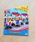 Fisher Price Little People 3 Fun Adventures Bonus Song  Story DVD Friends Kids