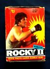 1978 Topps Rocky II Rematch Movie Trading Cards Box 36 Wax Packs Stallone