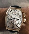 Franck Muller Cintree Curvex 18kt Rose Gold Automatic Chronograph Watch 8880CCAT