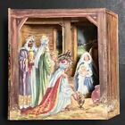 1949 Vintage Nativity Pop Up Christmas Religious Greeting Card