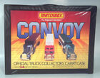 Vintage Matchbox Convoy Truck Collectors Carry Case With Trays 24 Trucks