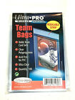 100 Ultra Pro TEAM SET BAGS Resealable Strip Trading Card Baseball UV 1 Pack NEW