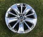 2010 2012 Ford Taurus 19 Factory OEM Wheel Rim Chrome Clad Factory Mint