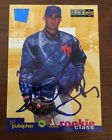 BILL PULSIPHER 1994 UPPER DECK ROOKIE RC AUTOGRAPHED SIGNED AUTO BASEBALL CARD 4
