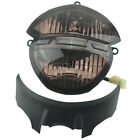 Smoked Front Headlight Assembly For Ducati Monster 696 659 795 796 M1000 1100