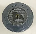 Walter Quick-step Metal Surface Finishing Flap Disk, Type 29 Pack of 10 120 Grit