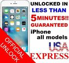 FACTORY IPHONE UNLOCKED SERVICE AT&T CODE ATT for IPhone 3 4 5 5S 6 6s SE 7 8 X