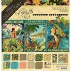 Deluxe Collectors Tropical Travelogue Collection Scrapbooking Kit Graphic 45