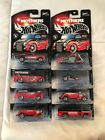 Hot Wheels Mothers Wax Series 1  2 Lot Of 8 Dairy Delivers Go Cart School Bus