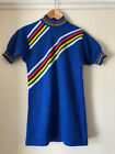 Vintage Classic 80 Wool Italian Cyclng Jersey By Moa Sport