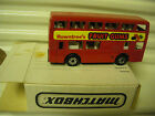 Matchbox MB17C 1981 RED ROWNTREES Fruit Gums Leyland Titan London Bus MintBoxd