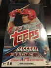 2018 Topps MLB Baseball Series 1 Sealed Hobby Box 36 Packs Of 10 Cards 1 Hit