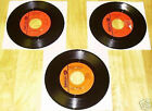 1968-1969 Jerry Lee Lewis 3 SMASH 45s 2202 2224 2244 To Make Love Sweeter/One Ha
