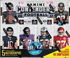 2017 Panini Contenders Football Sealed Hobby Box - 5 or 6 Autos - Free Shipping