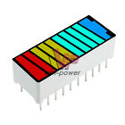 1510pc 10 Segment 4 Colour Color Led Battery Bar Graph Light Display Indicator