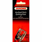 AcuFeed Ditch Quilting Foot 202103006 For Janome 9mm Max Stitch Width Machines