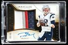 2014 Immaculate Tom Brady 4 color Game Worn Jersey Patch Auto 49. Sick Patch!