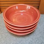 Fiestaware Paprika Medium Bowl Lot of 4 Fiesta Cereal Bowl