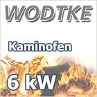 Wodtke Kaminofen Tio air+ Holz Holzofen 6 kW mit HiClean-Filter Art.