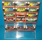 Action Dale Earnhardt Car Collection w Display Case Check Photos 13 Cars Only