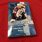 2016-17 UPPER DECK SEALED HOBBY BOX LOT SERIES 1 AND SERIES 2 (1 OF EACH)