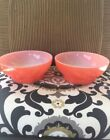 Red Fire King Anchor Hocking small bowls